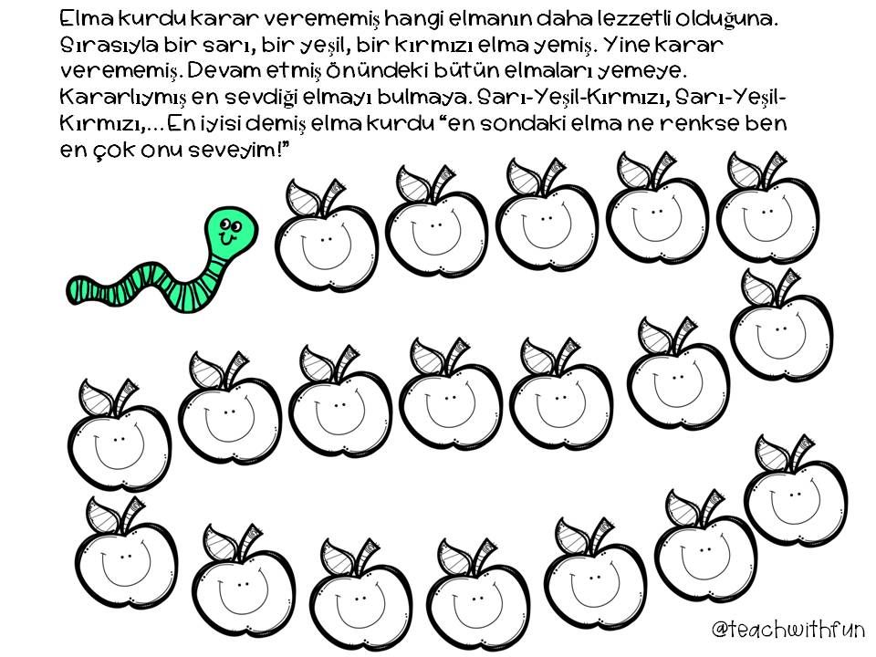 Oruntu Pattern Goruntuler Ile Egitim Ogretim Okuma Calismasi