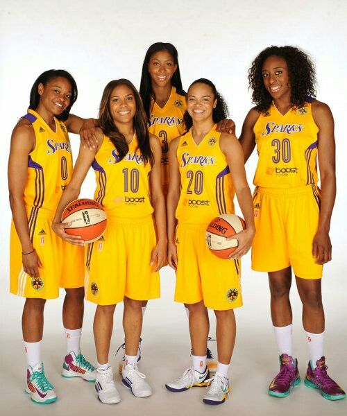 Los Angeles Sparks Wnba Womens Basketball Candace Parker