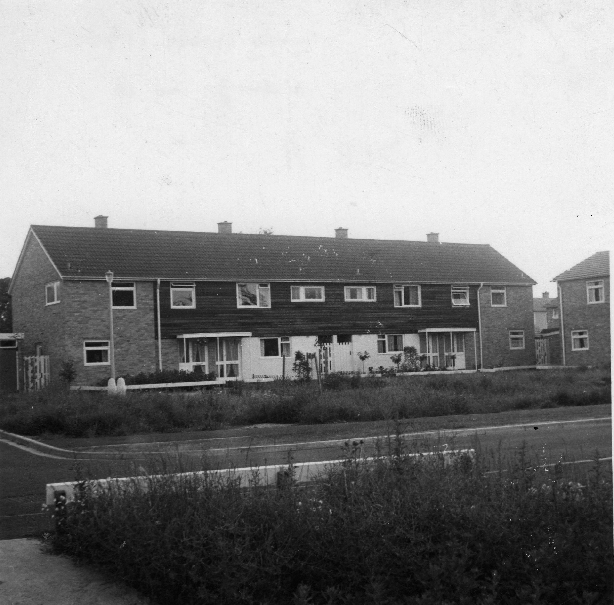 View Of Houses In Springbrook From 10 Springbrook In Eynesbury In 1962 When They Were New Views House 20th Century