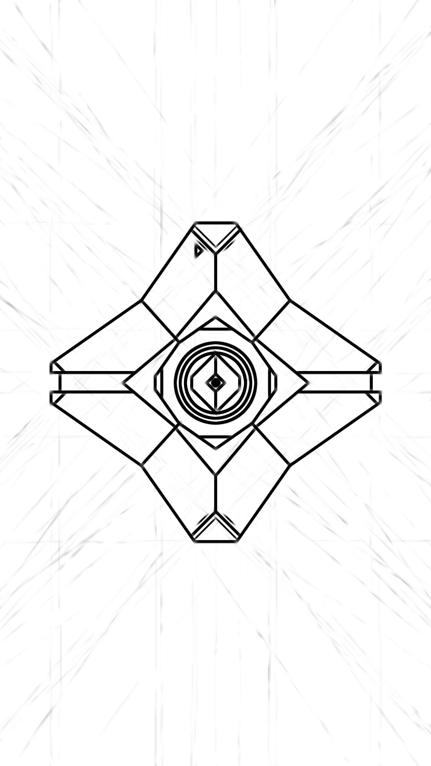 Destiny Ghost Doodle Wallpaper Work In Progress Ink Pinterest