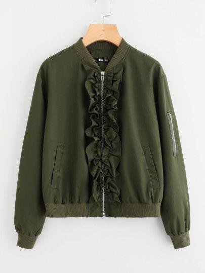 La chaqueta bomber
