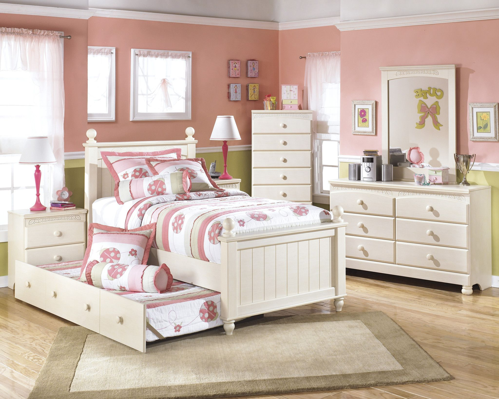 Cottage Retreat Twin Bed Girls Bedroom Furniture Sets Girls