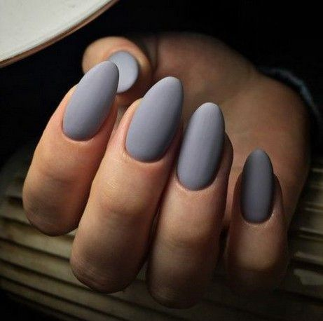 60 most gorgeous short and long almond matte nails ideas