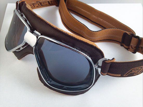 Cafe Racer Goggles And Helmets