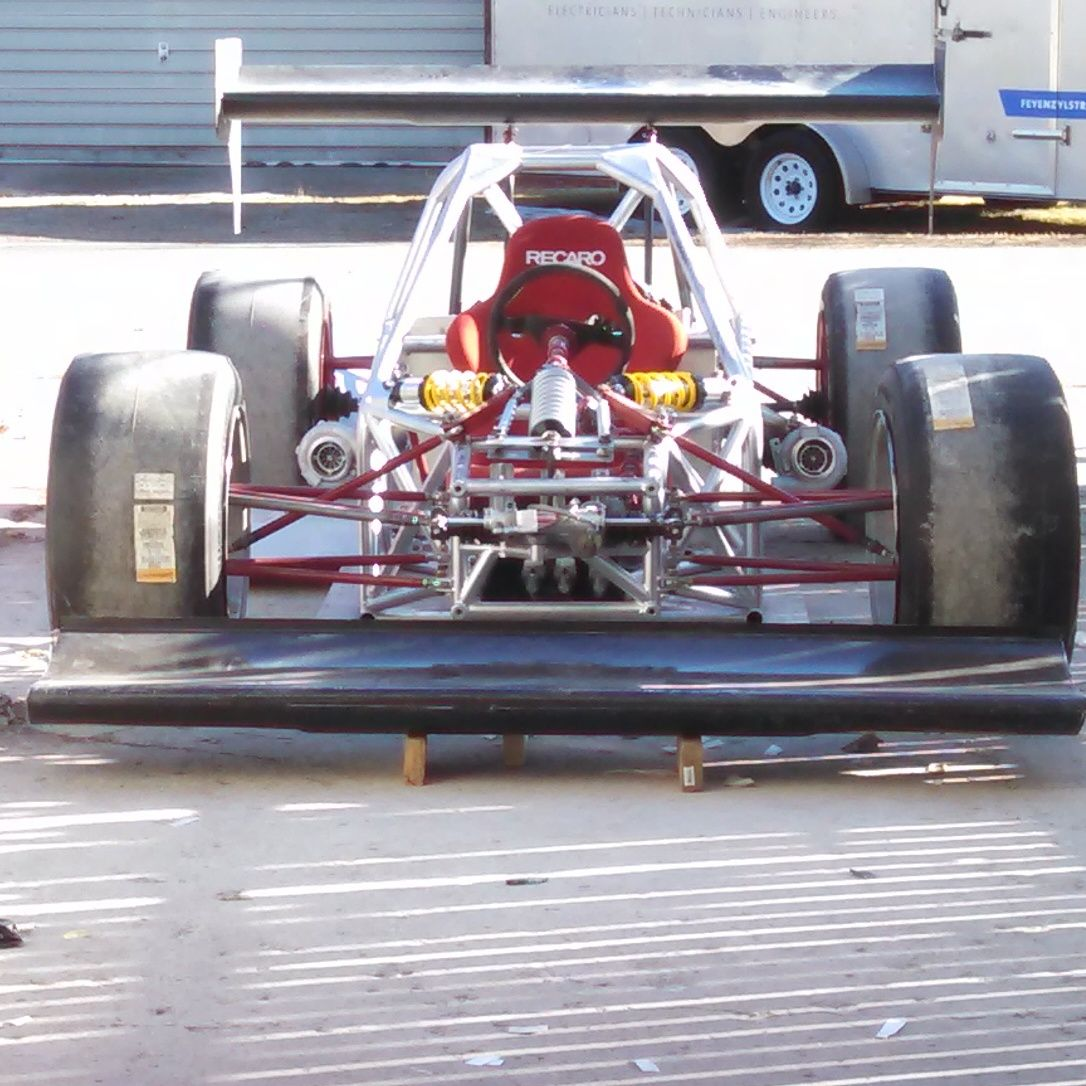 Twin Turbo Powered V8 Custom Race Car Built By LoveFab Inc