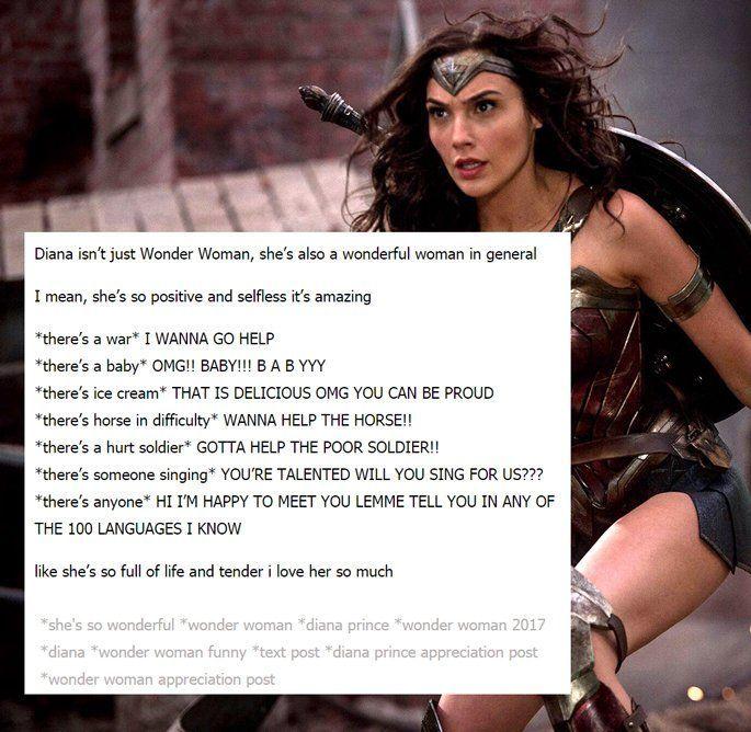 Times Wonder Woman Was The True Princess Of Tumblr Awesomewomen Wonder Woman Movie Wonder Woman Wonder
