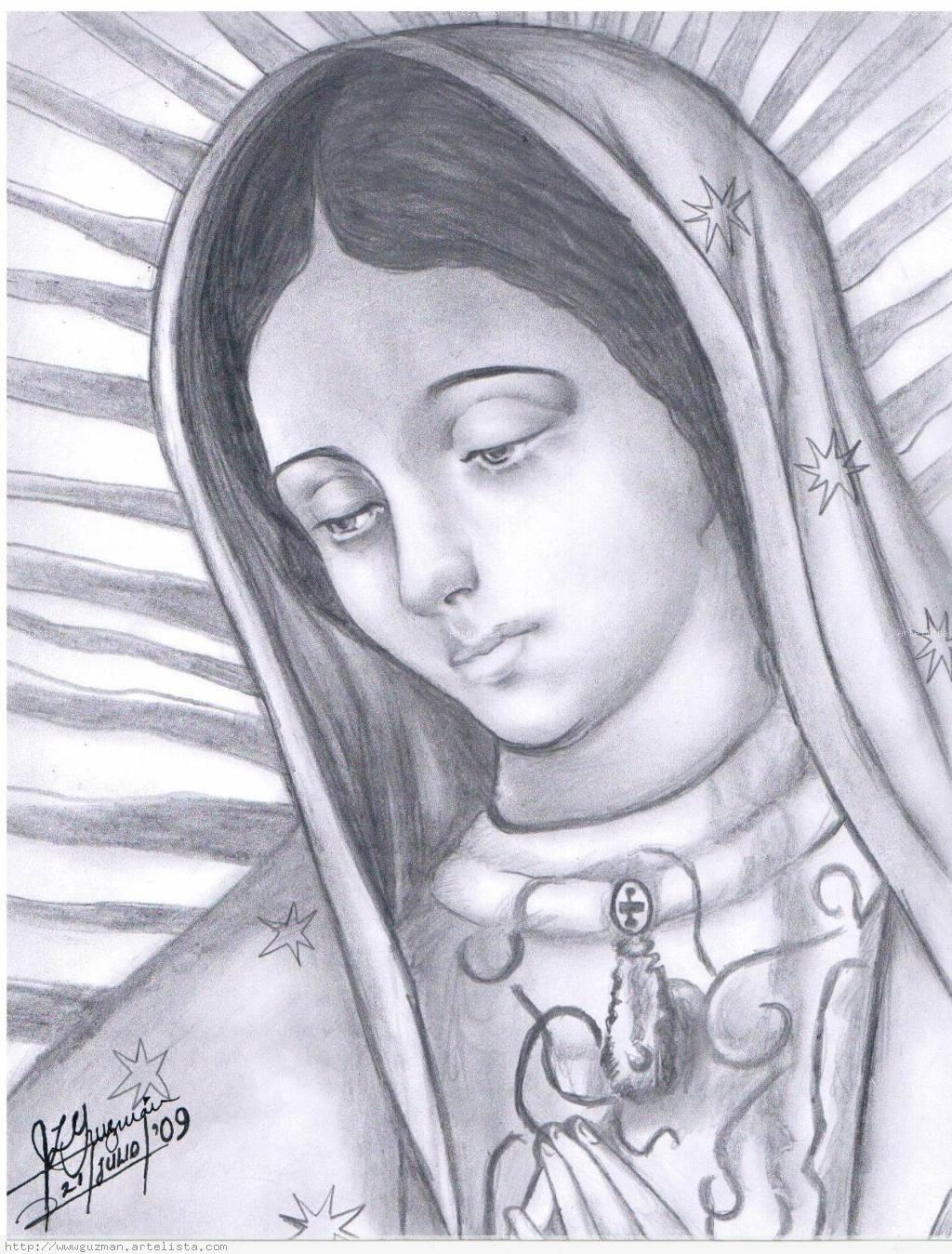 virgen de guadalupe easy art paintings - Google Search | virgen de ...