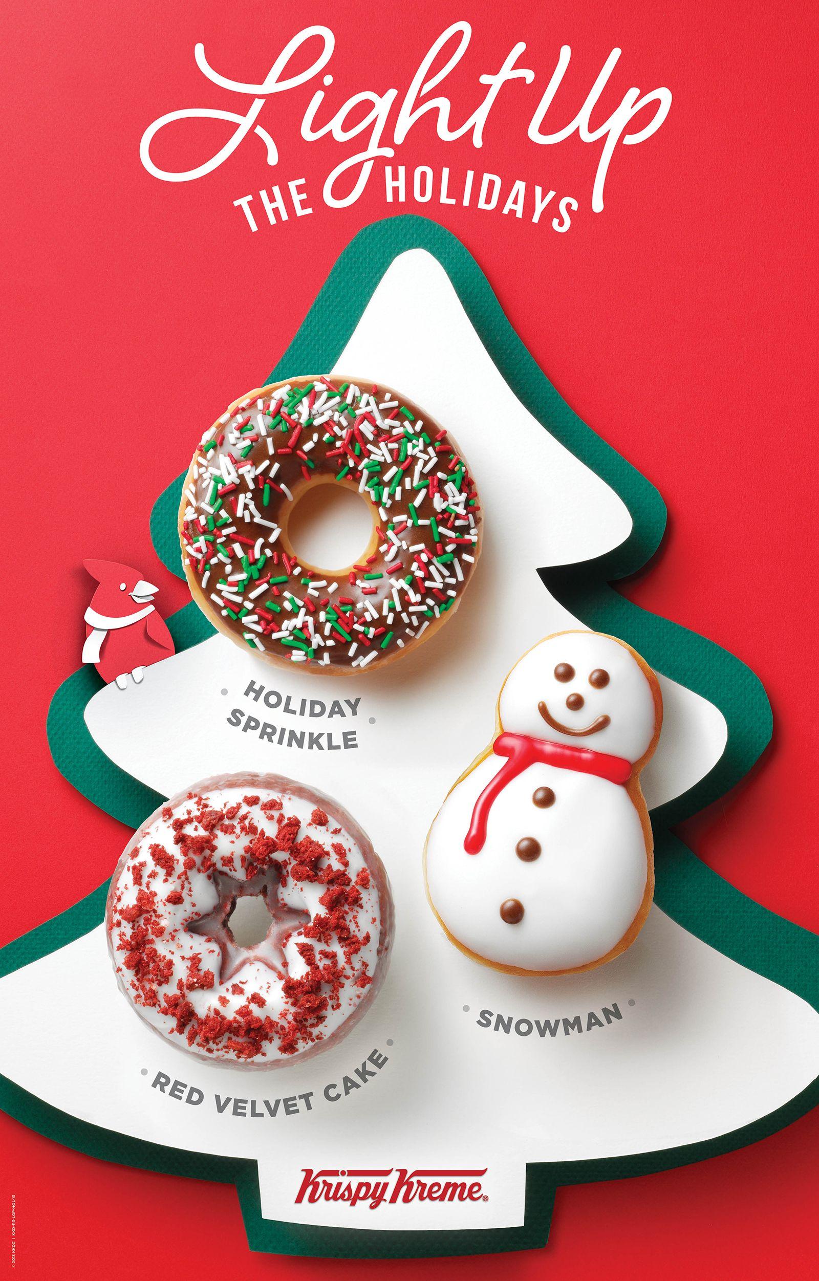 light up the holidays by visiting krispy kreme - Krispy Kreme Christmas Hours