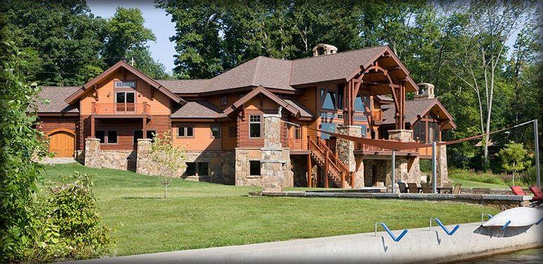 PrecisionCraft Log Homes   Custom Designs and Exceptional