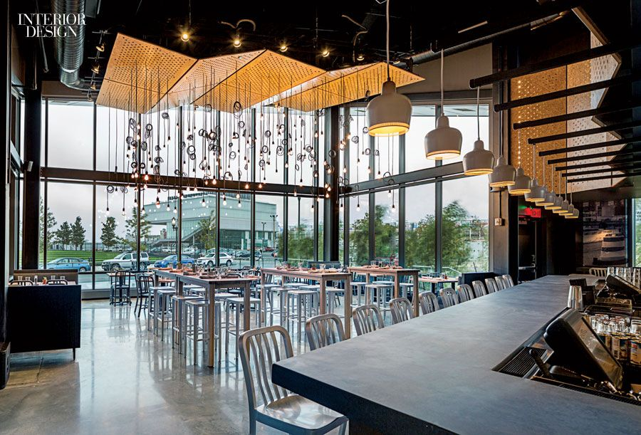 gather restaurant at the multi use district hall in boston offering rustic fare - Multi Restaurant Design
