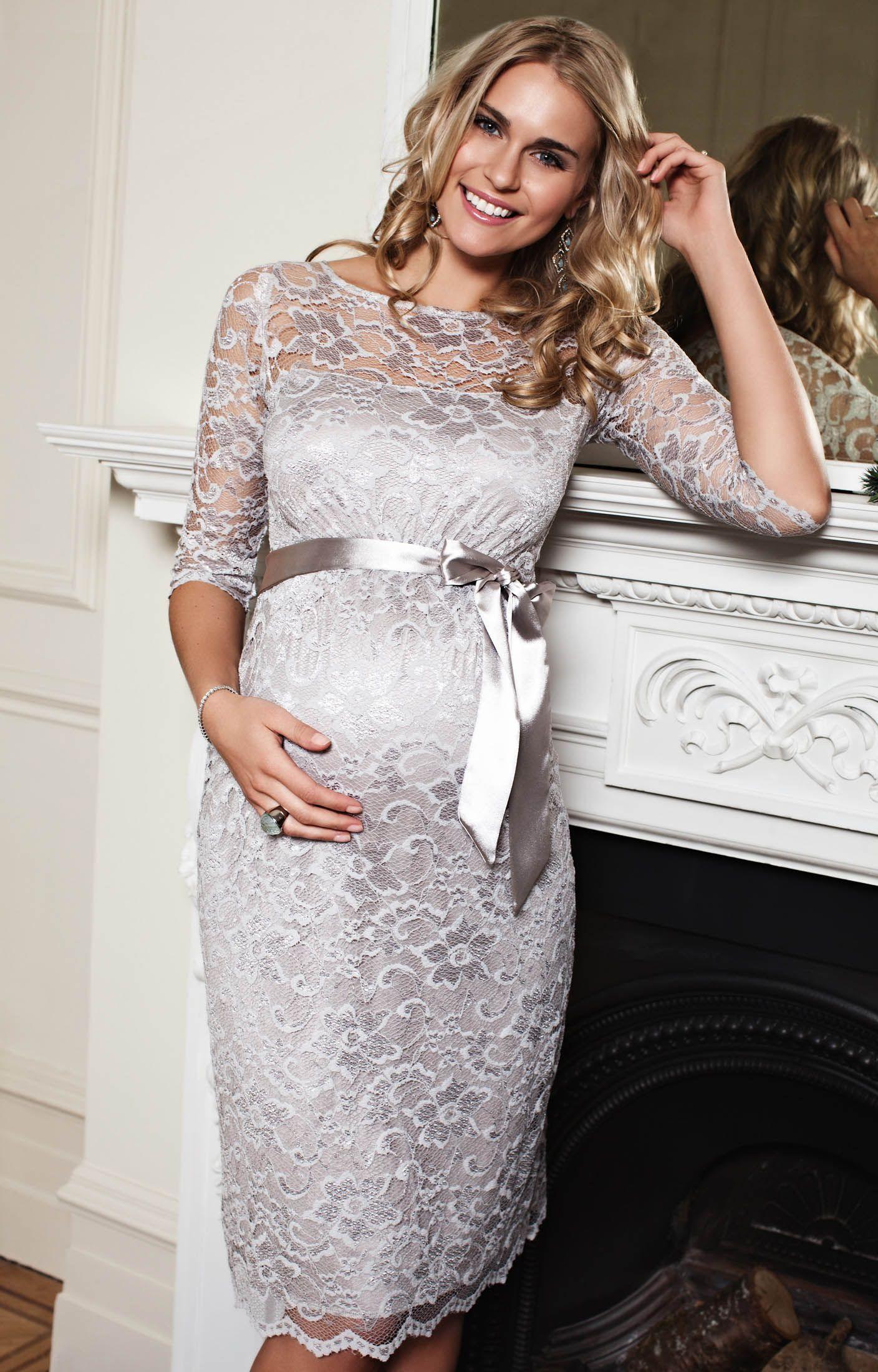 Amelia Dress Short. Lace Maternity ...