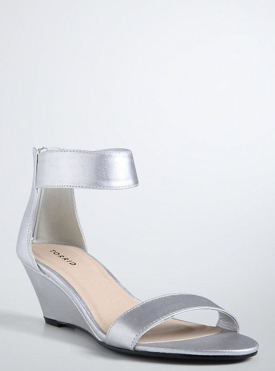 Ankle Strap Mini Wedges (Wide Width) | Torrid, Ankle straps and Wedges