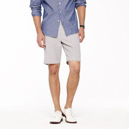 mens seersucker shorts suit   seersucker club short - shorts ...