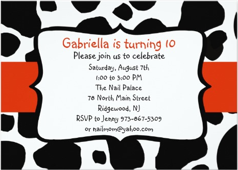 17 Best images about Kids Party Invitations – Cow Party Invitations