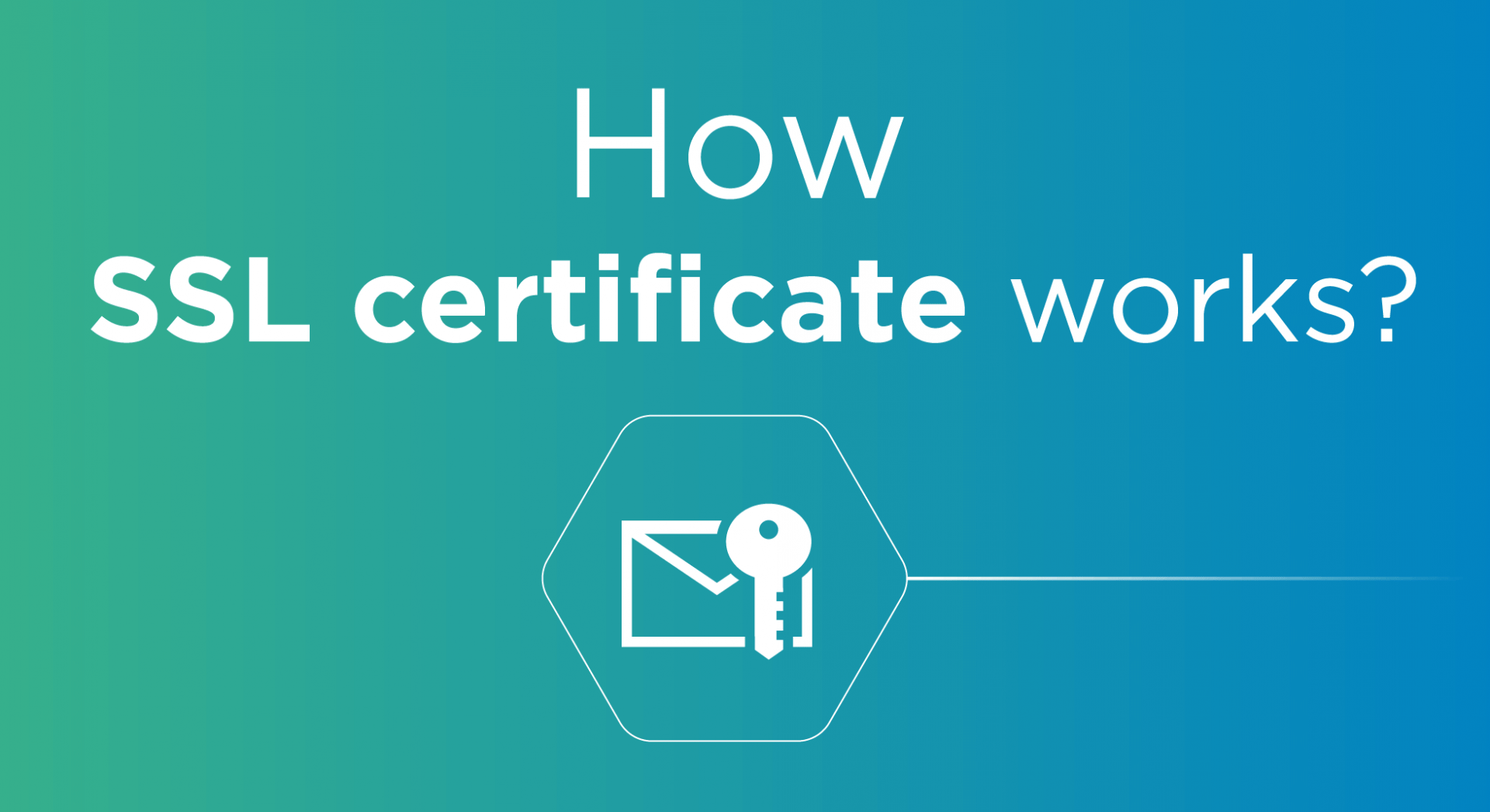 How SSL Certificates Work? 1. A browser or server attempts