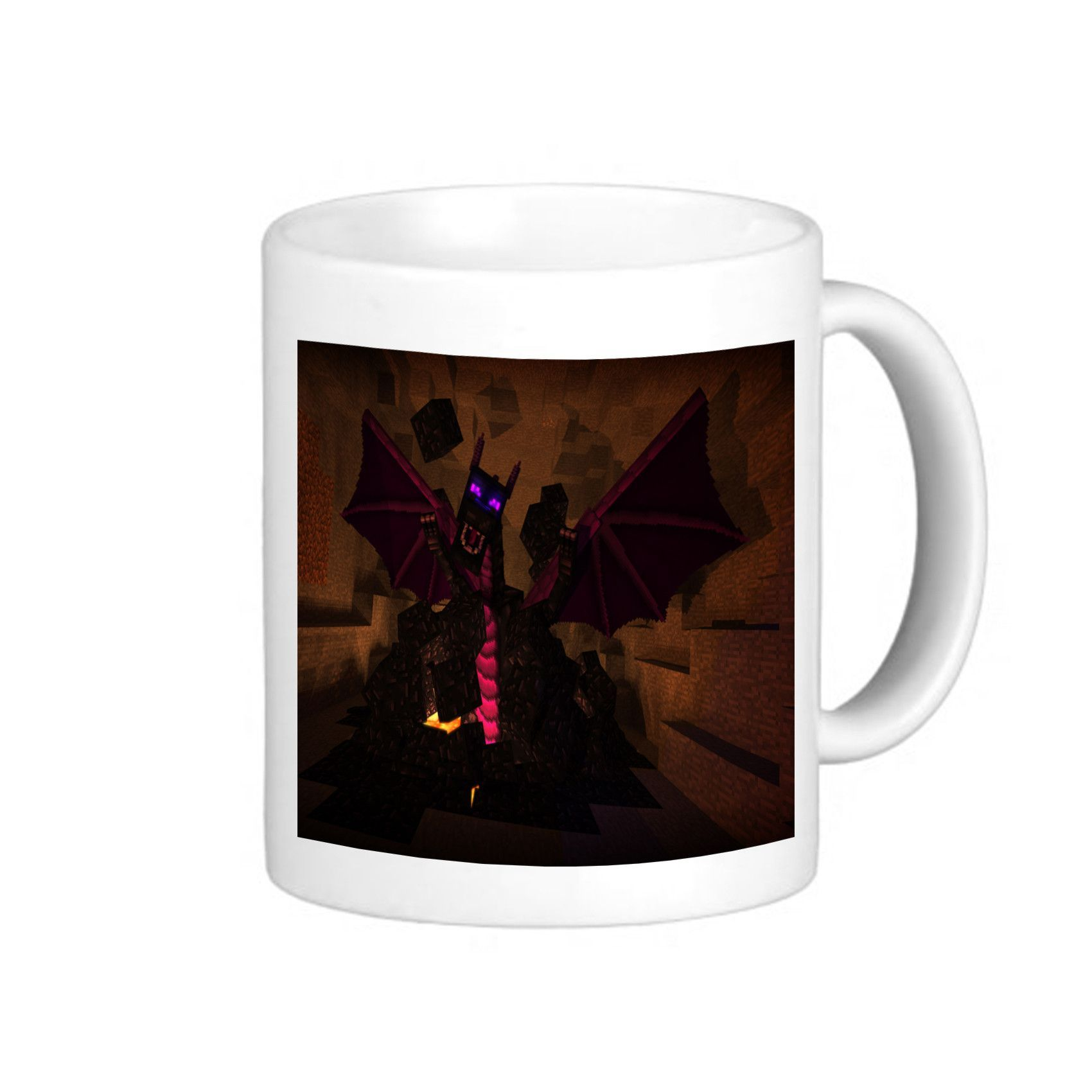 Obsidian Dragon Coffee Mug Coffee Mug Tea Design For