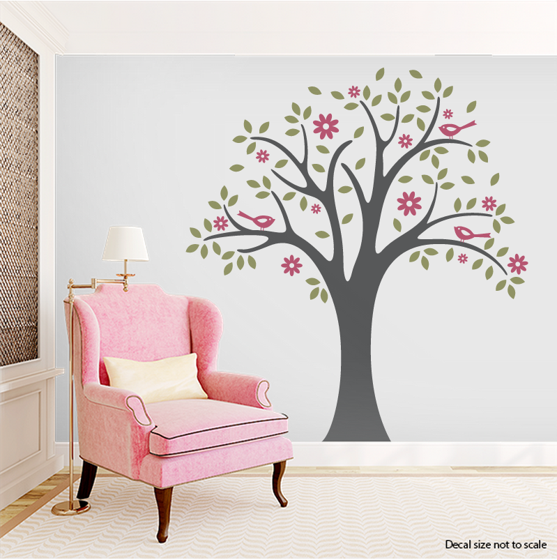 Spring Tree Wall Decal Wall Decals Tree Wall Decal Tree Wall