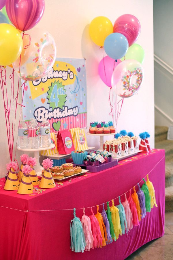 Pin On Girl Birthday Party Ideas