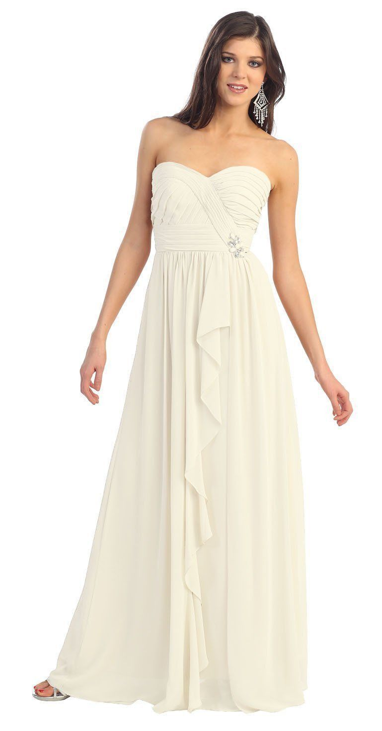 Long formal prom plus size bridesmaids dress formal prom