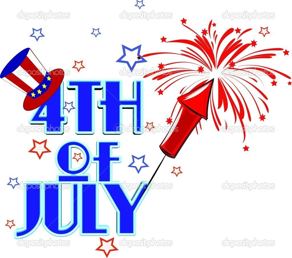 Clip Art Calendar July : Th of july clip art fourth