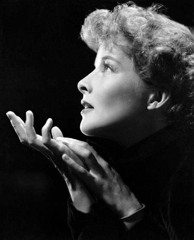 Katharine Hepburn. Fotografiada por Ernest A. Bachrach.