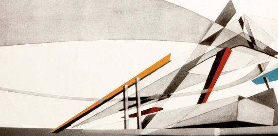 Zaha Hadid\u0027s New Paintings Architekturzeichnungen, Grafiken und - design klassiker ferienwohnungen weimar