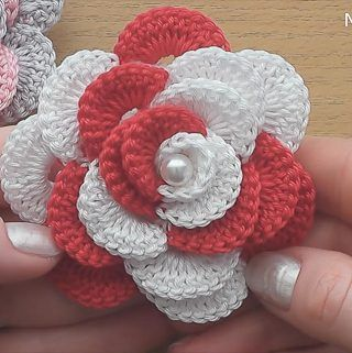 Easy Crochet Lace Flower You Should Learn   CrochetBeja
