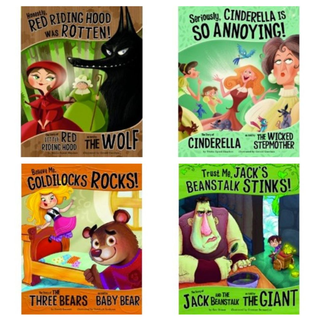 Great Fairy Tales From The Perspective Of The Other Character Great For Teaching Point Of