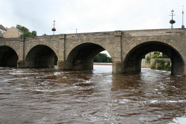 Río Wharfe, Wetherby