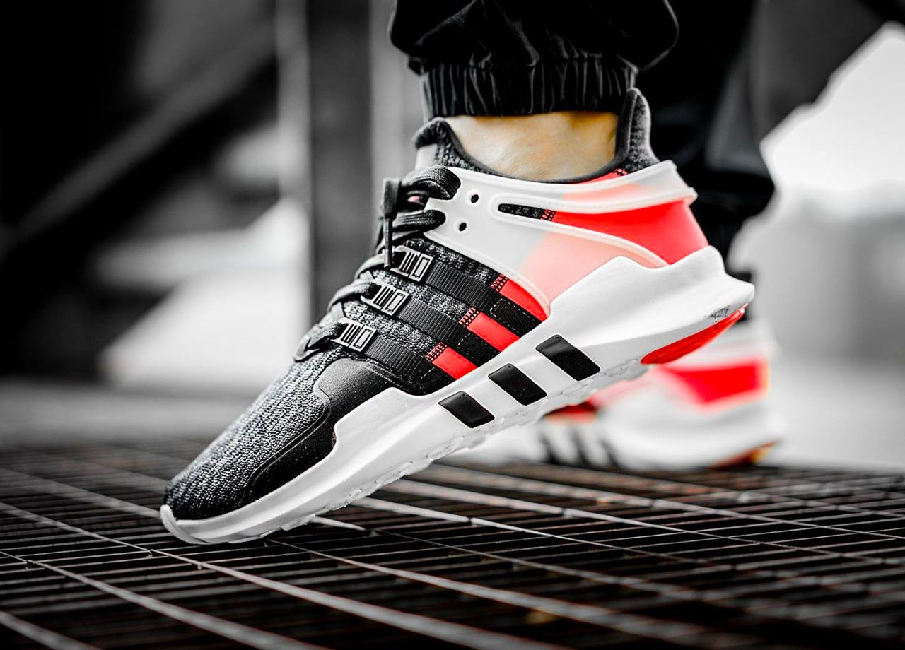 608cfffcd71a Adidas EQT Support ADV - Turbo Red Black - 2017 (by elzapatillaztio)  Available here  Adidas   Overkill   Pro Direct   Allike   Caliroots   More  shops