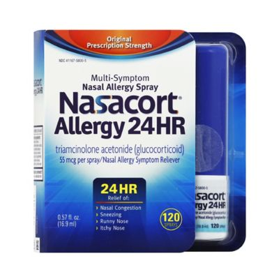 graphic about Nasacort Coupon Printable referred to as Nasacort Allergy 24 Hour Non-Drowsy Nasal Spray 120 Sprays