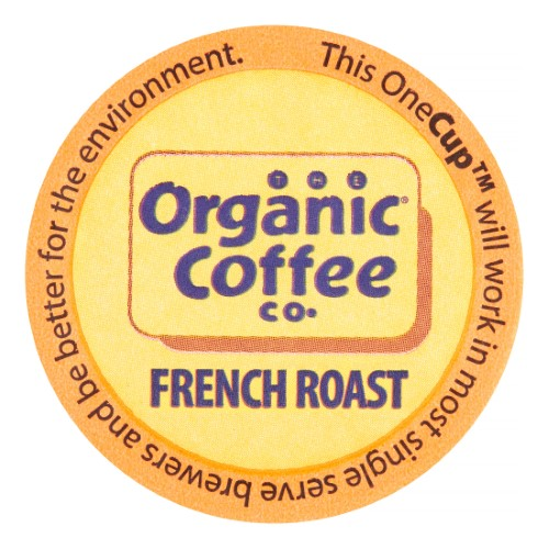 Organic Coffee Company Dark Roast Single Serve For Keurig