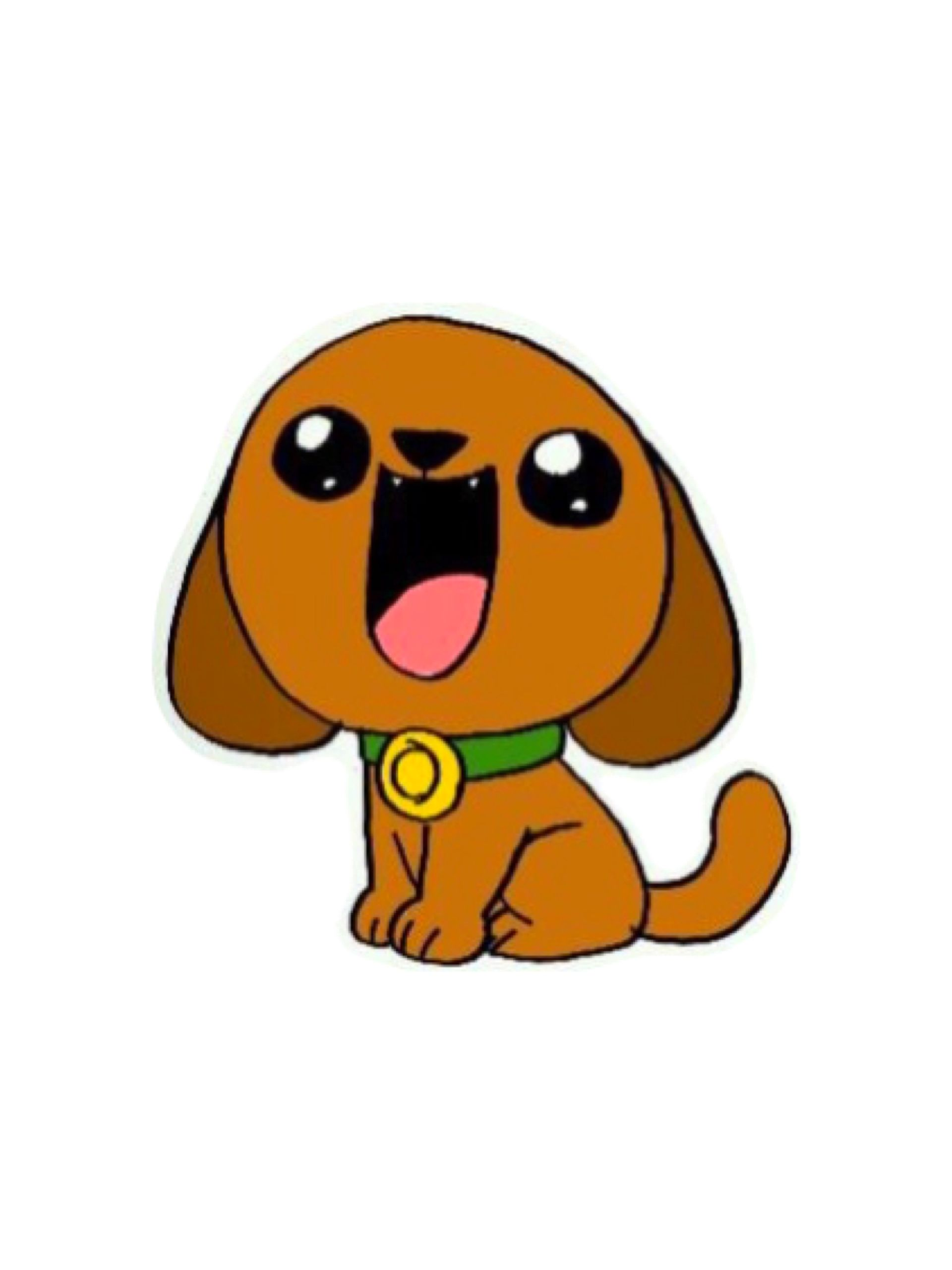 Pin De Geraldin Gutierrez En Kawaii Como Dibujar Un Perro