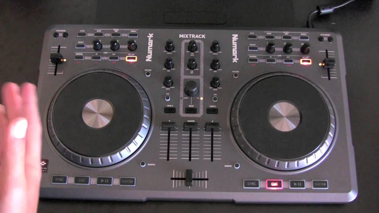 Numark Mixtrack Software Midi DJ Controller Review | MEXICO