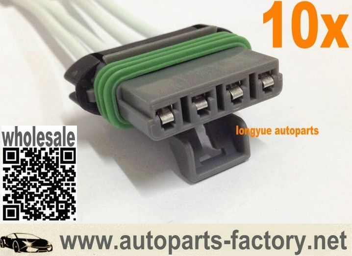Longyue 10pcs Heater Blower Motor Resistor Pigtail Harness For Colorado Canyon Ssr Pickup 6 Fan Motor Harness Car Electronics