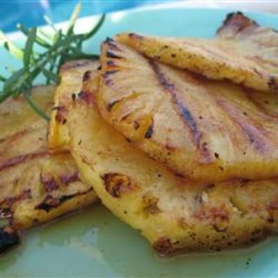 Grilled Pineapple food-and-drink