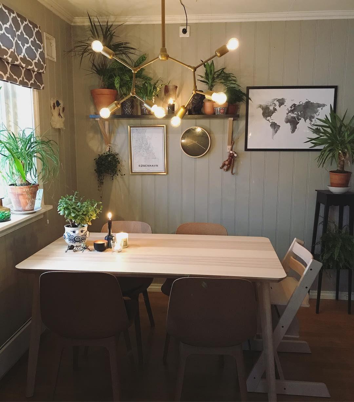Tine On Instagram Det Begynner A Bli Host I Heimen Desenio Ikea Odger Lisabo Bjornwiinblad Stokke St Decor Ikea Table Interior Decorating [ 1227 x 1080 Pixel ]