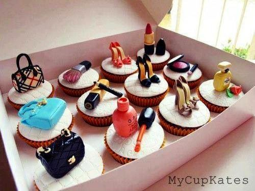 Stylish Cupcakes | Make up cake, Cupcake cakes, Fashion cupcakes