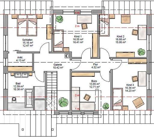Lifestyle 219 inkl überbauter Garage von Suckfüll