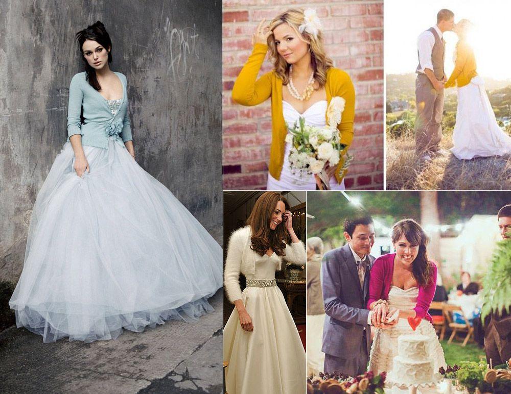 97cec59d33c Wedding Dress with Cardigan