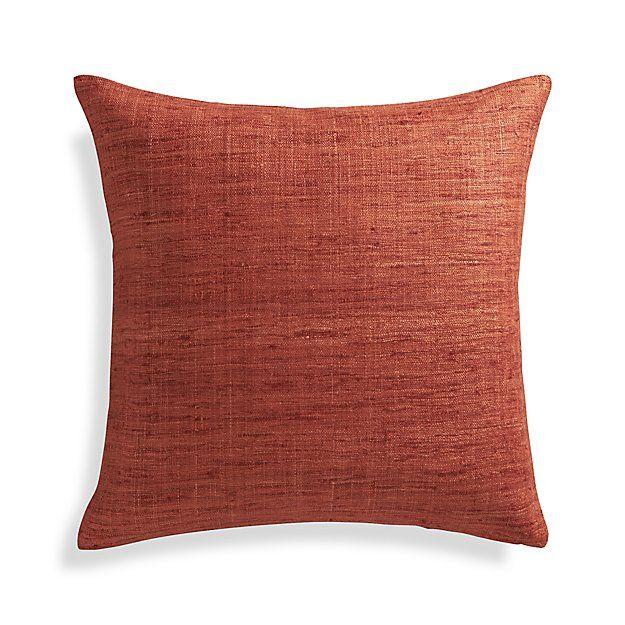 Trevino Terra Cotta Orange 20 Pillow