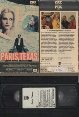 Paris, Texas [VHS 1984] Harry Dean Stanton, Nastassja Kinski, Dean Stockwell, Winner of the Grand Prize at the Cannes Film Festival in 1984, Wim Wenders's PARIS, TEXAS tells the haunting story of an amnesiac (Harry Dean Stanton) and his struggle to rebuild his shattered life. Featuring a story by Sam Shepard and a renowned score by Ry Cooder, the film also stars Nastassja Kinski and Dean Stockwell.