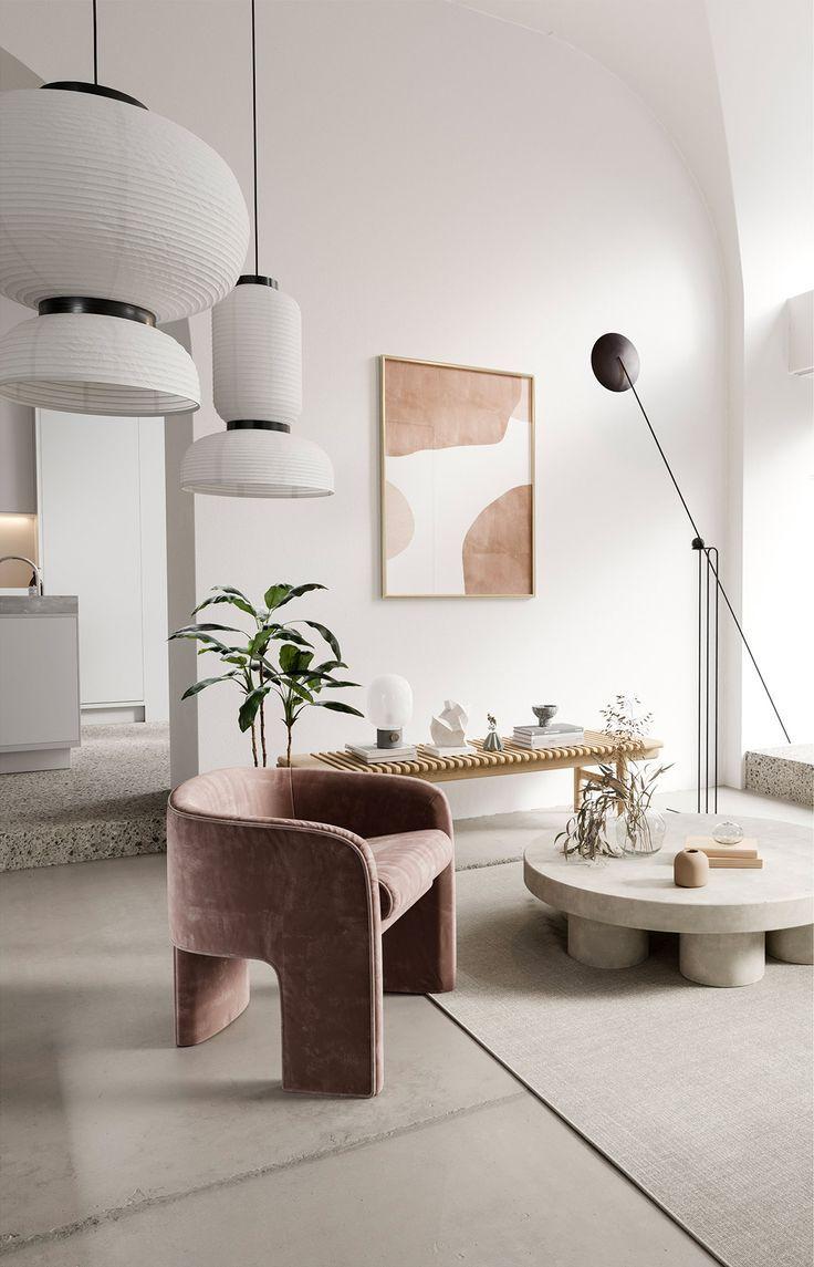 Refined White Minimalist Interiors
