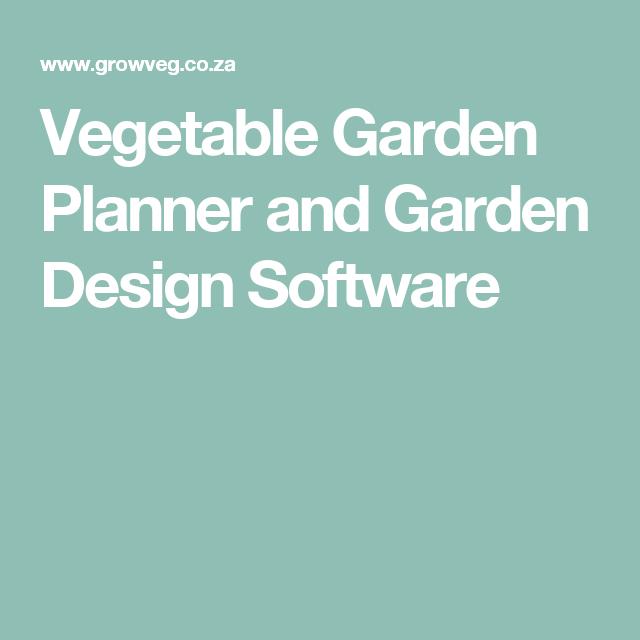 Vegetable Garden Planner and Garden Design Software Kitchen