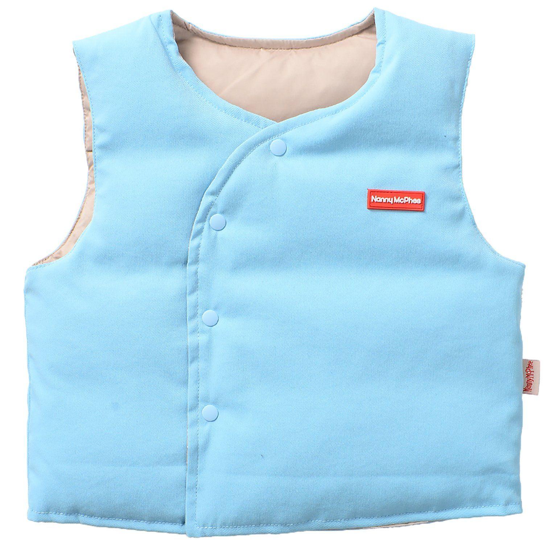 LittleSpring Little Girls Boys Vest Cute Sleeveless Jacket