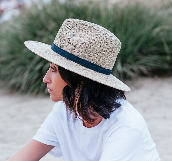 33946a5a5f617 Yellow 108 - Stevie Seagrass Straw Fedora