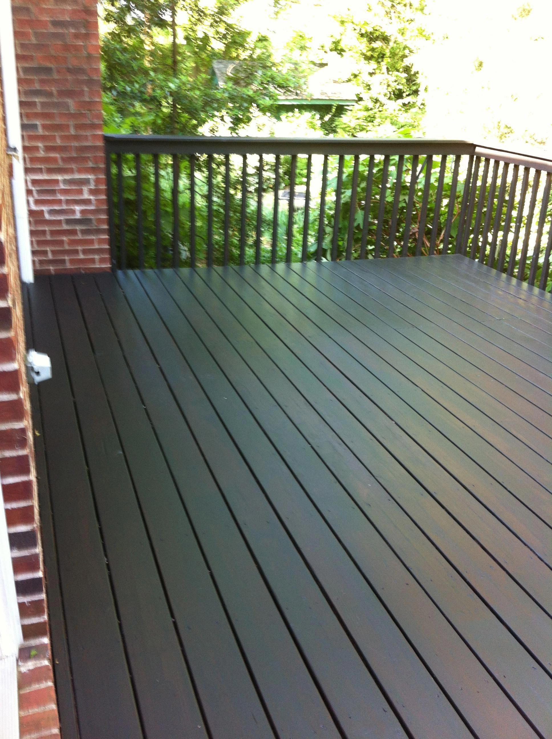 Painted Patio Deck Paint