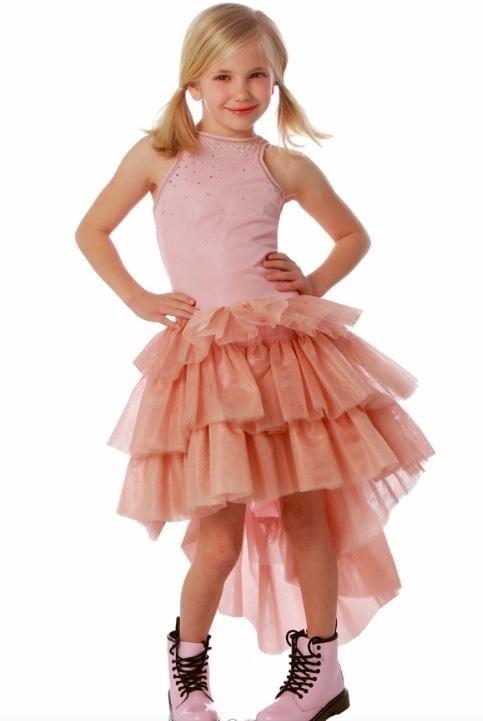 aaba0e4ea Ooh La La Couture Heavenly Pink Chloe Dress