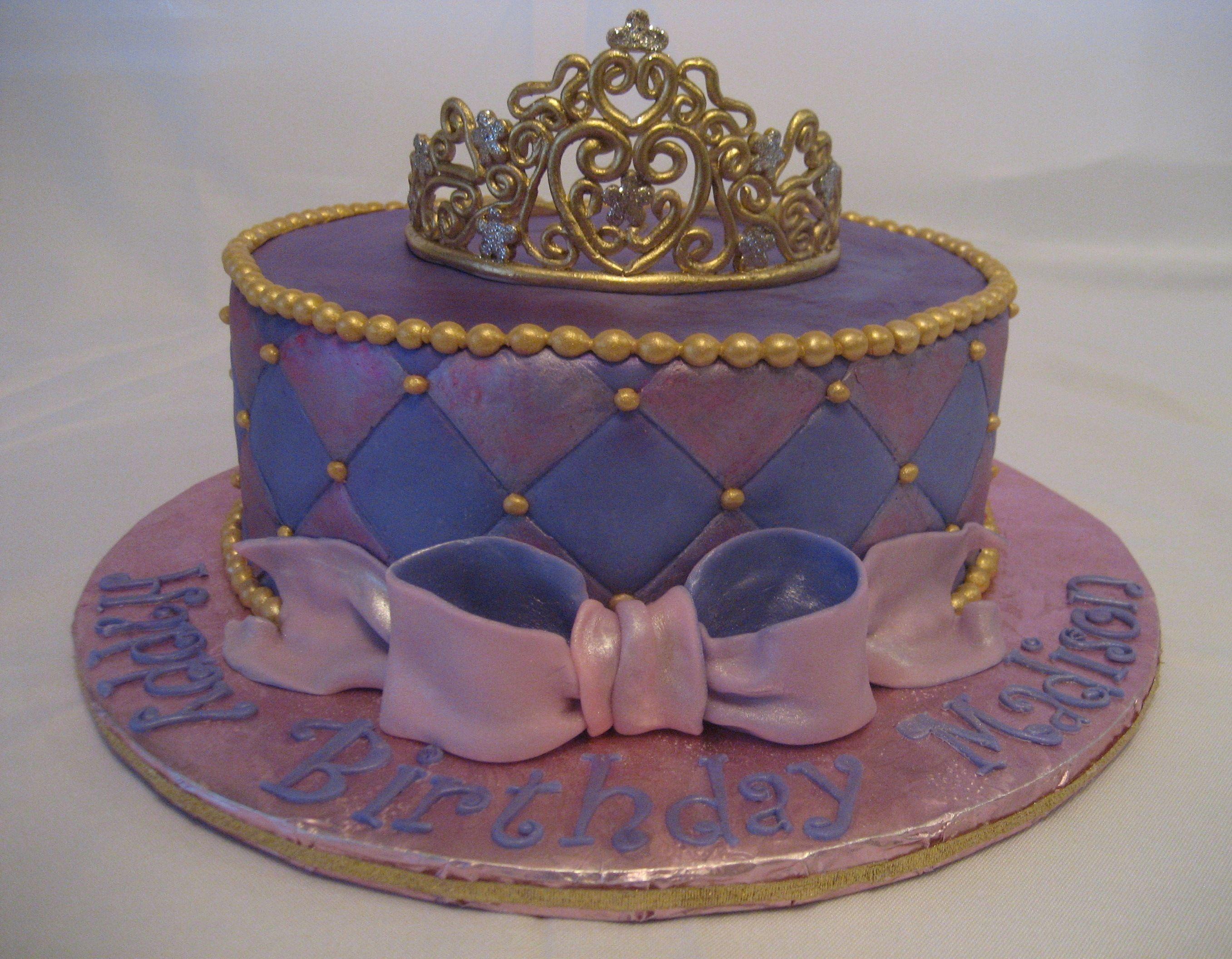 Magnificent Royal Purple Princess Birthday Cake Cute Princess Birthday Personalised Birthday Cards Veneteletsinfo