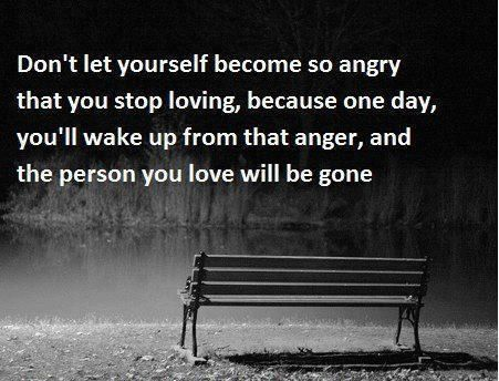 Facebook Anger Quotes Let It Be Anger